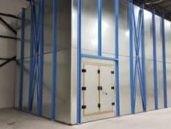 EMI testing radiated emissions immunity chamber
