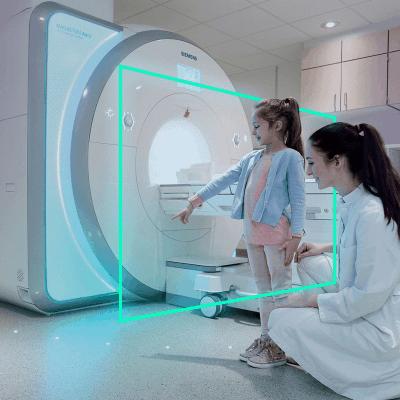 MRI shielded room