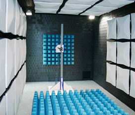 fully anechoic room chamber