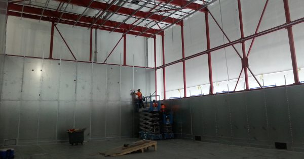 Semi anechoic chamber ETS lindgren removal disassembly relocation