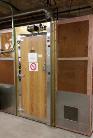 EMC EMI screened room