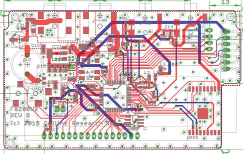2 layer PCB EMC failure radiated emissions
